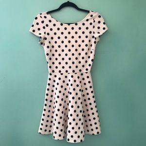 Dresses & Skirts - Retro pinup rockabilly polkadot dress mod